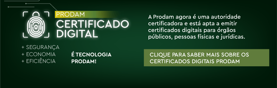 Certificado Digital Prodam
